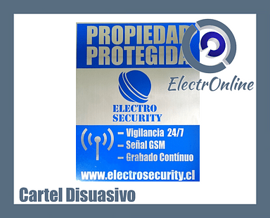 Cartel Disuasivo Electrosecurity