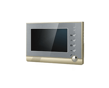 Monitor de interior LCD Color de 7 pulgadas