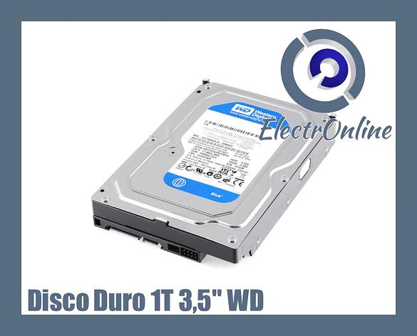 Disco Duro BLUE WD 1TB 3.5 SATA3 64MB 7200RPM