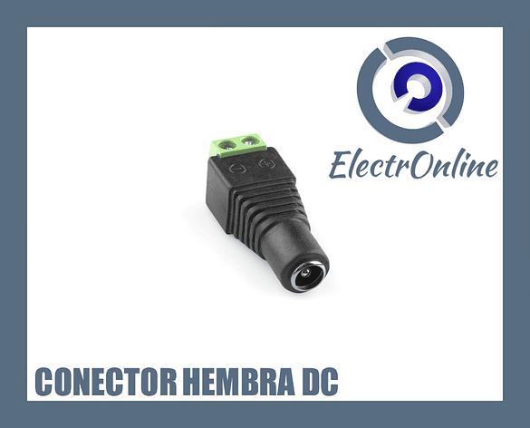 Conector Hembra de poder DC