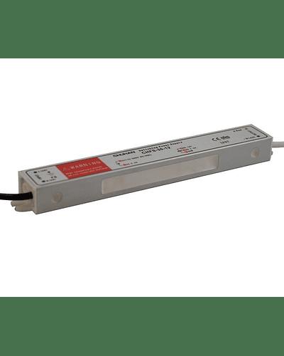 FUENTE DE PODER SWITCHING 30W 12V 2.5A EXTERIOR IP67