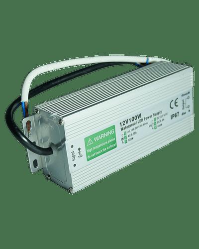 FUENTE DE PODER SWITCHING 100W 12V 8.5A EXTERIOR IP67