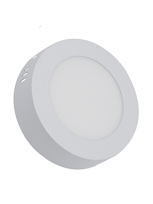 PANEL LED REDONDO SOBREPUESTO 6W IP40