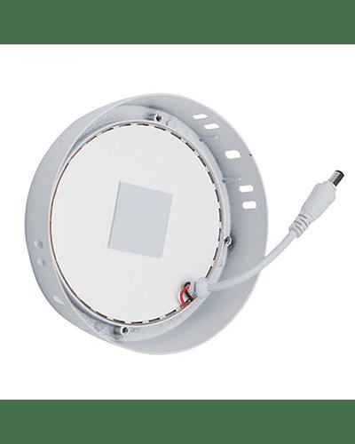 PANEL LED CIRCULAR SOBREPUESTO 12W IP40