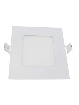 PANEL LED CUADRADO EMBUTIDO 6W IP20