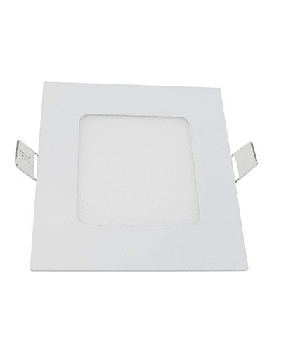 PANEL LED CUADRADO EMBUTIDO 6W IP33
