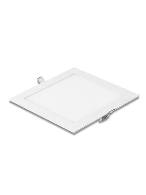 PANEL LED CUADRADO EMBUTIDO 12W IP20