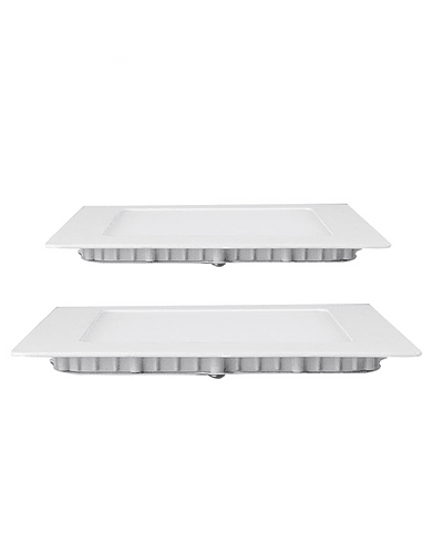 PANEL LED CUADRADO EMBUTIDO 18W IP20