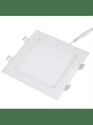PANEL LED CUADRADO EMBUTIDO 24W IP20