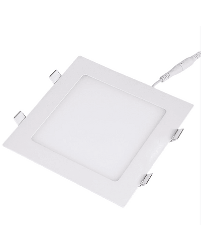 PANEL LED CUADRADO EMBUTIDO 24W IP20