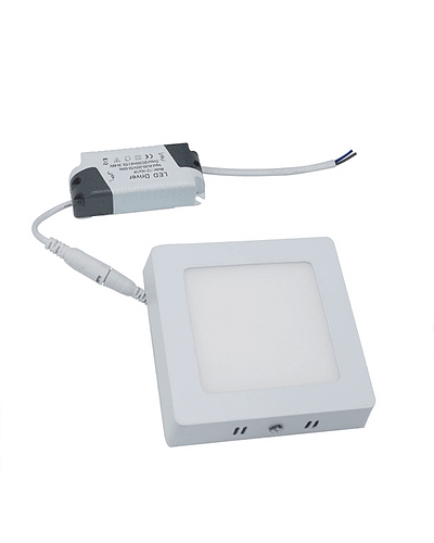 PANEL LED CUADRADO SOBREPUESTO 6W IP40