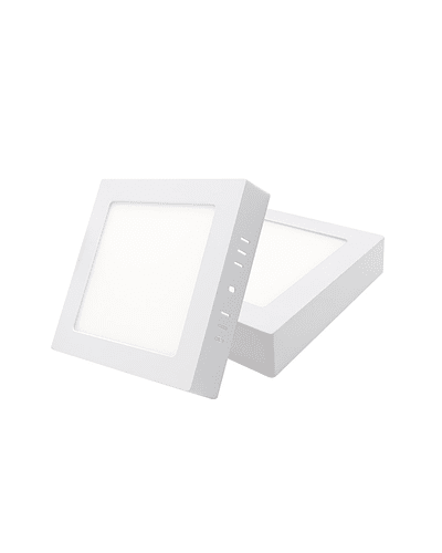 PANEL LED CUADRADO SOBREPUESTO 12W IP40