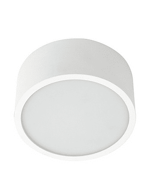 PANEL LED REDONDO SOBREPUESTO 16W IP44 BISEL REDUCIDO