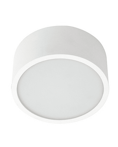 PANEL LED CIRCULAR SOBREPUESTO 16W IP44 BISEL REDUCIDO