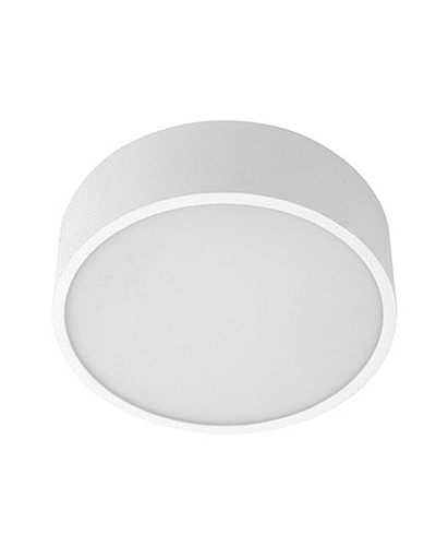 PANEL LED REDONDO SOBREPUESTO 24W IP44 BISEL REDUCIDO