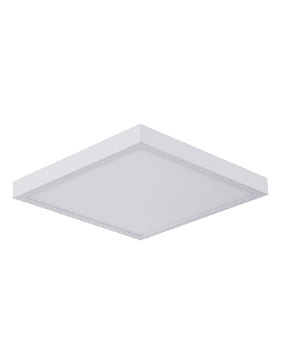 PANEL LED CUADRADO SOBREPUESTO 32W IP44 BISEL REDUCIDO