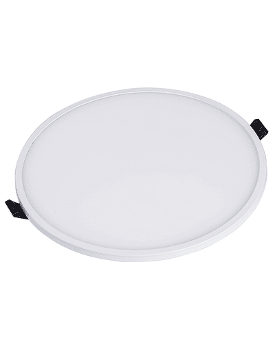 PANEL LED CIRCULAR EMBUTIDO 22W IP44 BISEL REDUCIDO