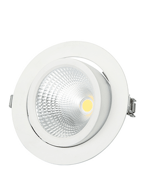 FOCO LED COB BASCULANTE CODO 20W LUZ FRÍA IP33