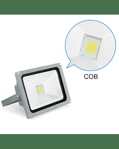PROYECTOR LED COB 20W GRIS IP65