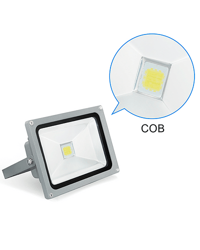PROYECTOR LED COB 30W GRIS IP65