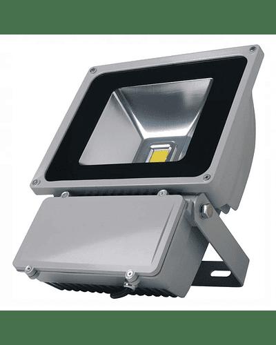 PROYECTOR LED COB 80W GRIS IP65