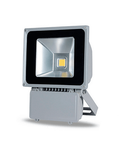 PROYECTOR LED COB 80W GRIS IP65