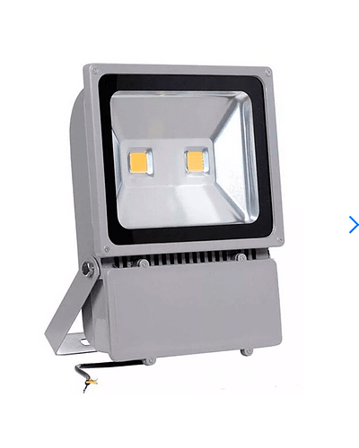 PROYECTOR LED COB 100W GRIS IP65