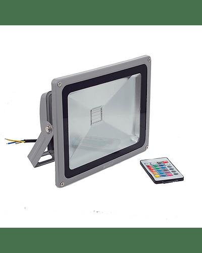 PROYECTOR LED COB RGB 50W GRIS IP65
