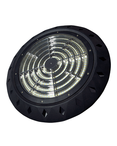 CAMPANA LED UFO 200W IP65 ULTRALIGHT NEGRA