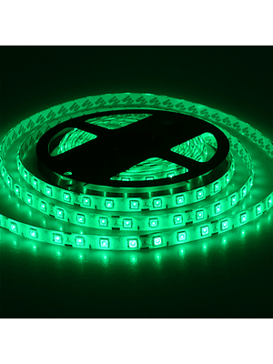 CINTA LED INTERIOR 14.4W SMD 5050 60LEDs/m 5mt. 12V. VERDE