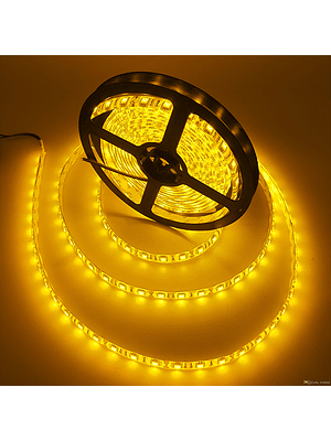 CINTA LED INTERIOR 14.4W SMD 5050 60LEDs/m 5mt. 12V. AMARILLO