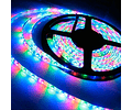 CINTA LED EXTERIOR 14.4W SMD 5050 60LEDs/m 5mt. 12V. RGB C/CONTROL REMOTO