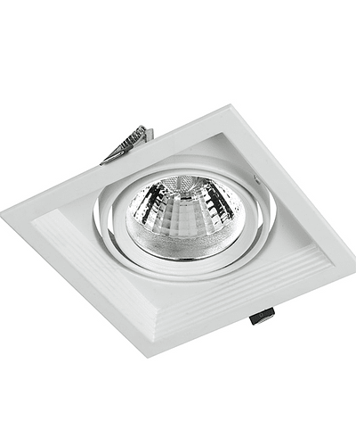 PUZZLE LED SIMPLE EMBUTIDO 12W INTEGRADO BLANCO IP33
