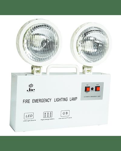 Equipo de Emergencia LED 2X7W Recargable Autonomía 2 Hrs.