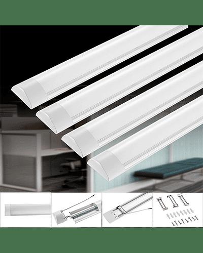 LUMINARIA LINEAL LED FLAT 40W 120 CM.