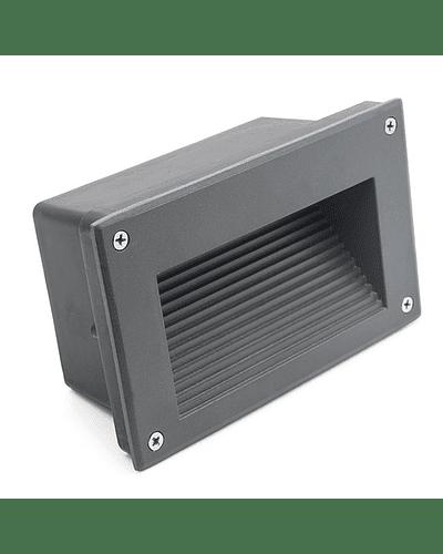 APLIQUE MURO EXTERIOR LED 3W IP65 GRIS