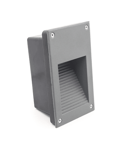APLIQUE MURO VERTICAL LED 3W IP65 GRIS