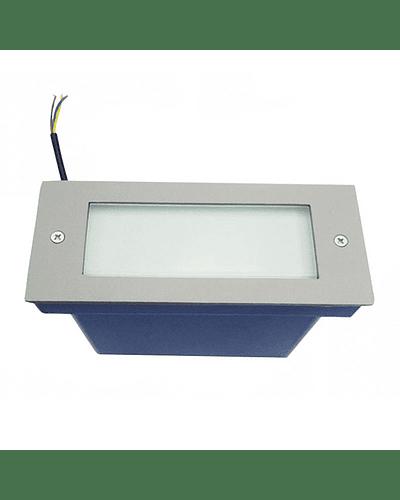 APLIQUE MURO EXTERIOR LED 1W S/ REJILLA IP65 PEQUEÑO