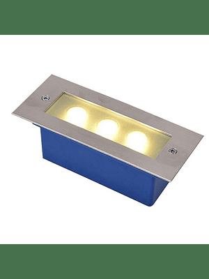 APLIQUE MURO EXTERIOR LED 5W S/ REJILLA IP65 GRANDE