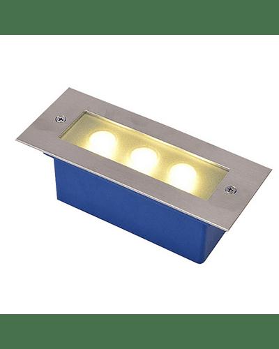APLIQUE MURO EXTERIOR LED 3W S/ REJILLA IP65 GRANDE