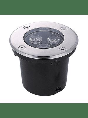 FOCO LED EMBUTIDO EN PISO 3W IP67