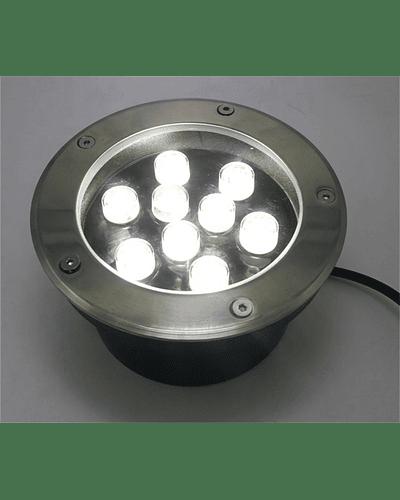 FOCO LED EMBUTIDO EN PISO 9W IP67
