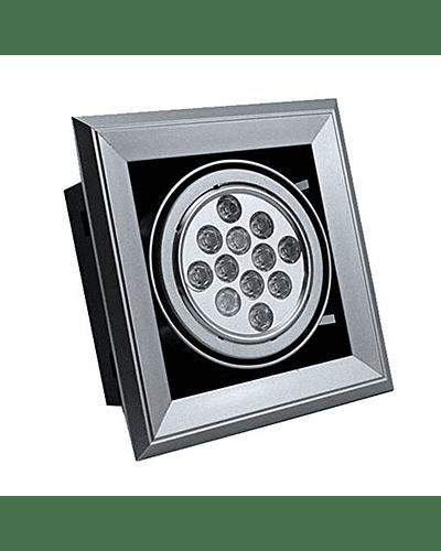 PUZZLE LED SIMPLE EMBUTIDO 24W INTEGRADO GRIS IP33