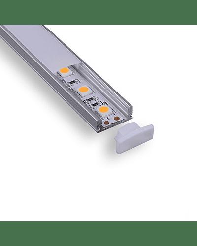 Perfil de Aluminio Sobrepuesto para Cinta LED