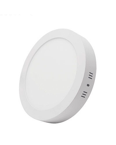 PANEL LED REDONDO SOBREPUESTO 18W IP40