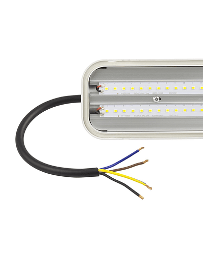LED TRI-PROOF OPAL 40W INTEGRADA IP65 IK08 1200 MM.