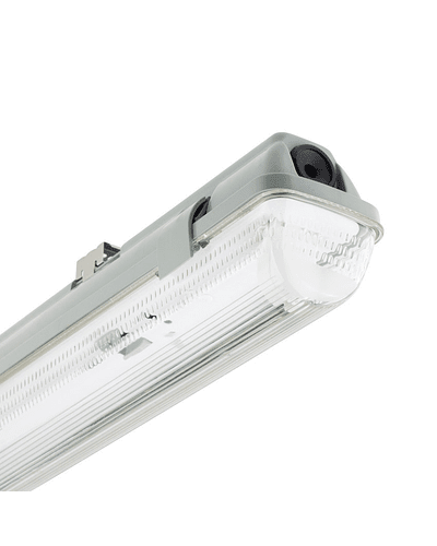 CANOA LED HERMÉTICA 1X18W IP65 IK07 1200 MM. PMMA