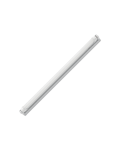 CANOA SIMPLE PARA TUBO LED 1200 MM.