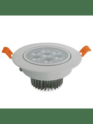 Foco Dicroico LED Embutido SMD 7W Blanco