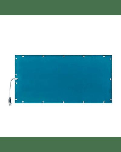 PANEL LED 120X60 CM. 80W PARA CIELO AMERICANO MARCO BLANCO REGULABLE